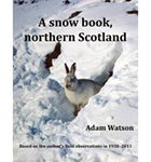 A snow book, northern Scotland