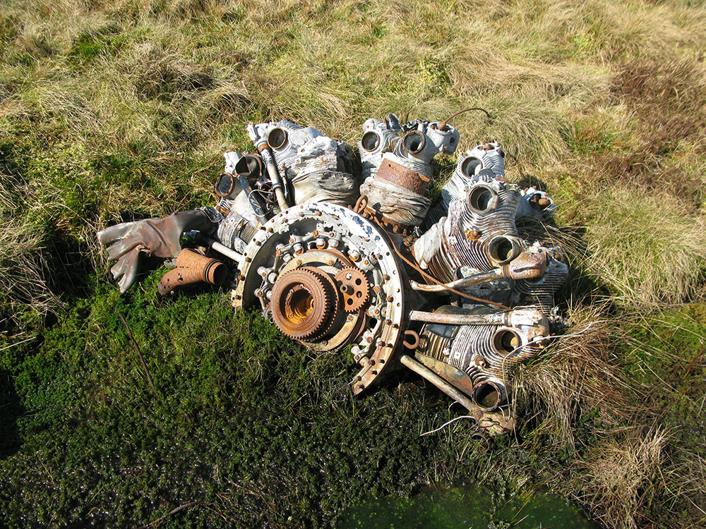 Aircraft Wrecks The Walkers Historic Crash Sites On Moorountains Of