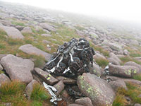 Blenheim engine near the summit of Braeriach