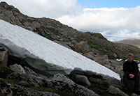 Snowpatch on Ben Macdui