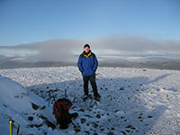 On the summit of Ben Chonzie