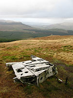 Fairey Firefly remains on Meikle Bin