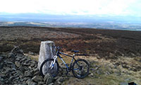 On the summit of Lammer Law