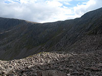 Protalus rampart in Garbh Choire Mr